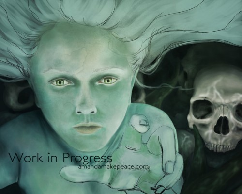 Her Domain WIP by Amanda Makepeace