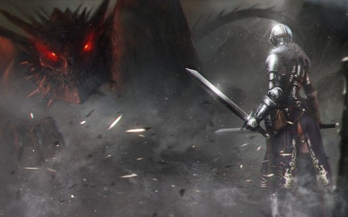 knight-vs-dragon