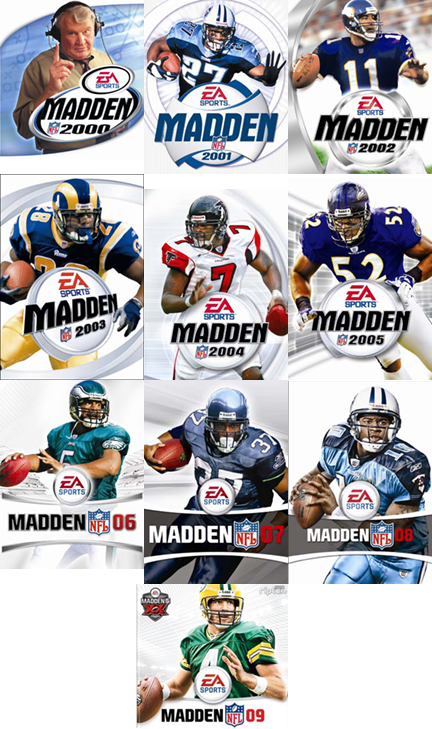 The covers of the Madden video game - NFL.com