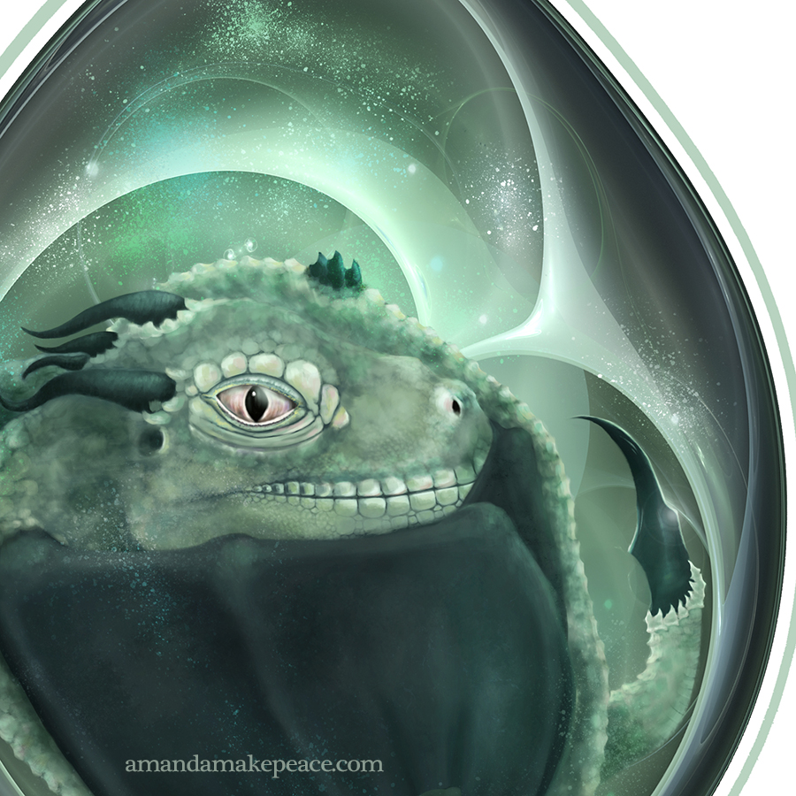 Dragon's Egg by Amanda Makepeace