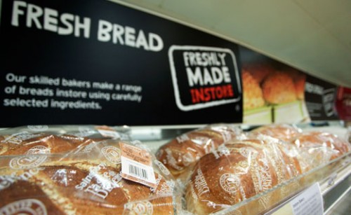 Sainsbury's Fresh Bread