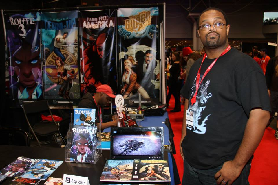 Robert Jeffrey II at NYCC 2013