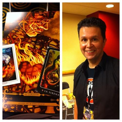 John Picacio at Dragon Con 2014