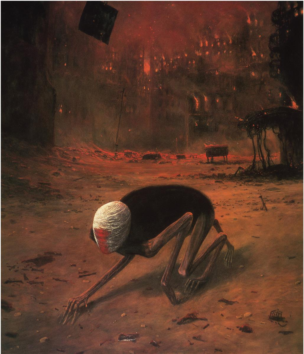 Untitled by Zdislav Beksinski