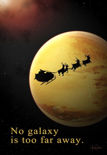 No galaxy is too far away