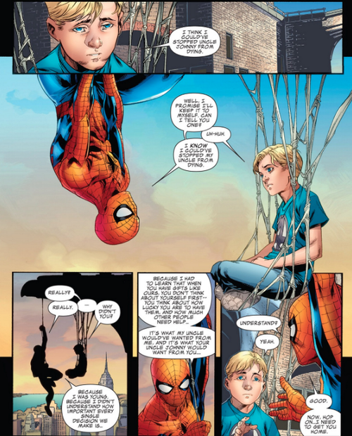 Fantastic Four-Spidey and Franklin