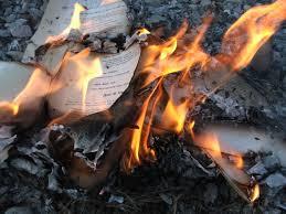Scorched Manuscript