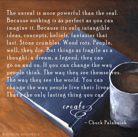 Thoughtful Thursday with Chuck Palahniuk
