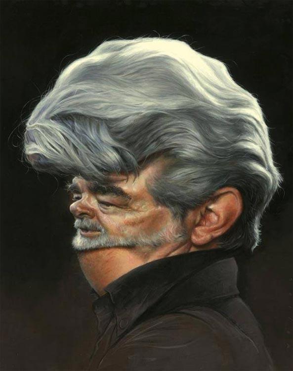 George Lucas by Jason Seiler