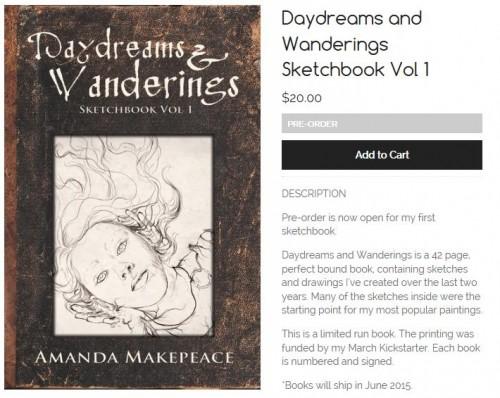 Pre-order Daydreams & Wanderings