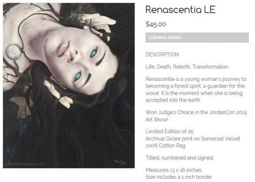 Renascentia Prints Coming Soon