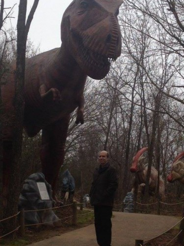 Martin Powell and the T-Rex