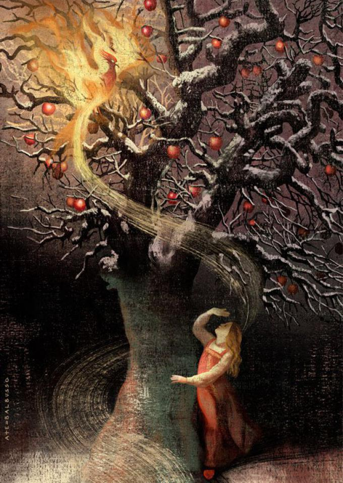 Ekaterina and the Firebird by Anna Balbusso and Elena Balbusso