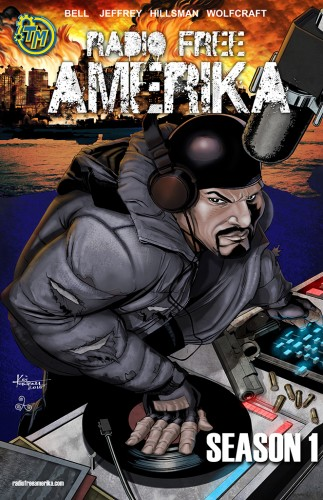 Cover for Radio Free Amerika: Season 1.