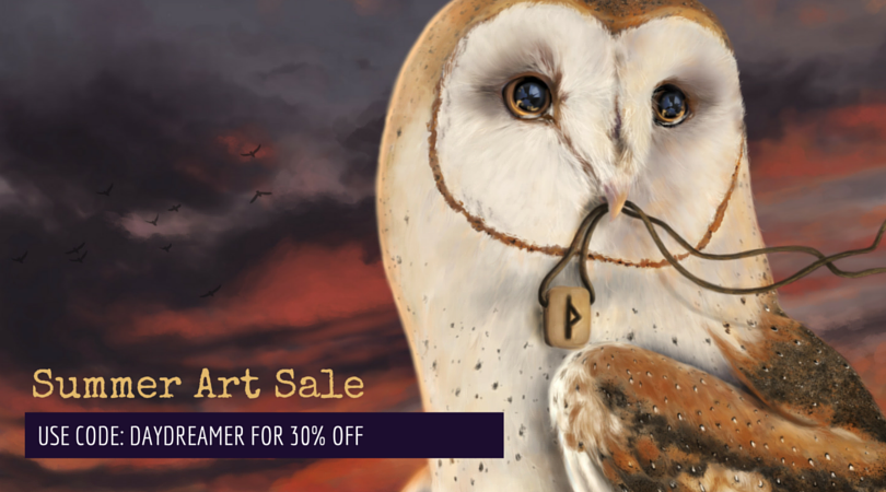 Summer Art Sale!