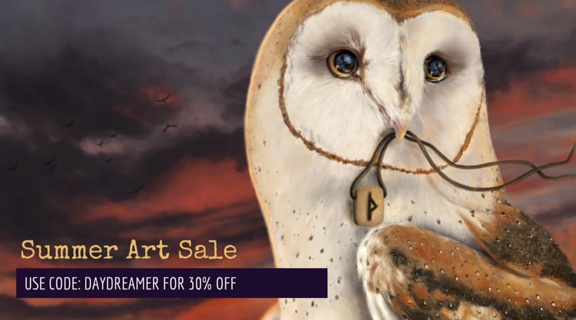 Summer Art Sale!