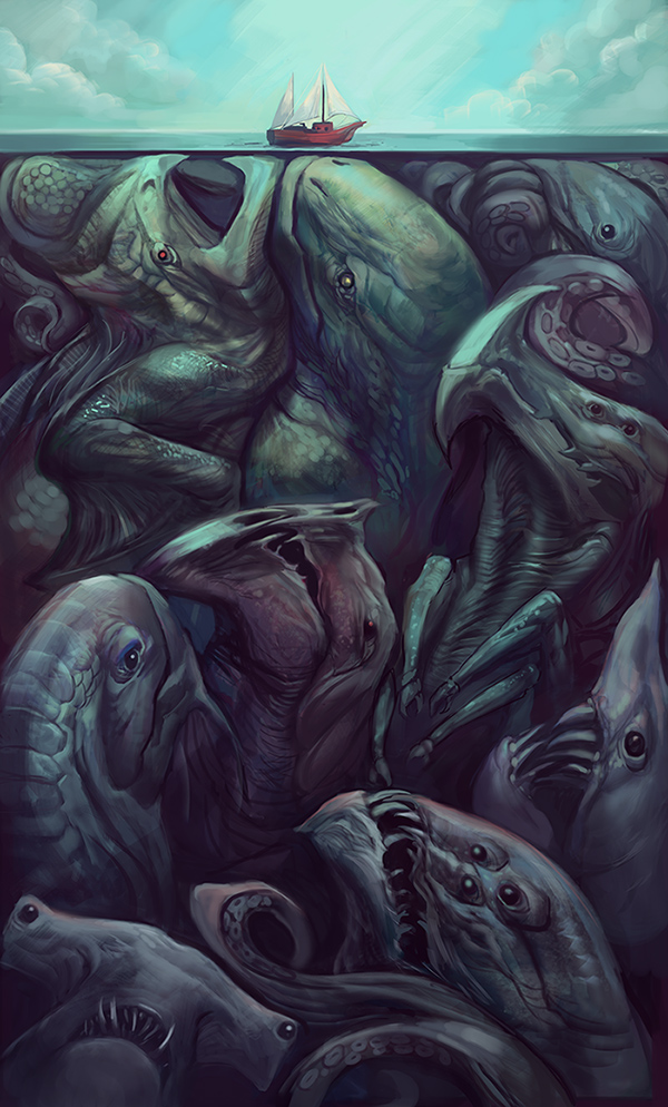 Beneath the Surface by Jullie Dillon