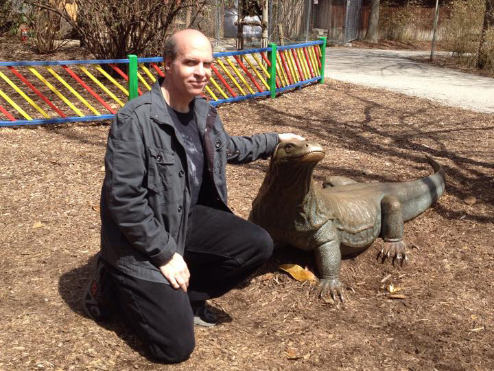 Martin Powell and the Komodo Dragon