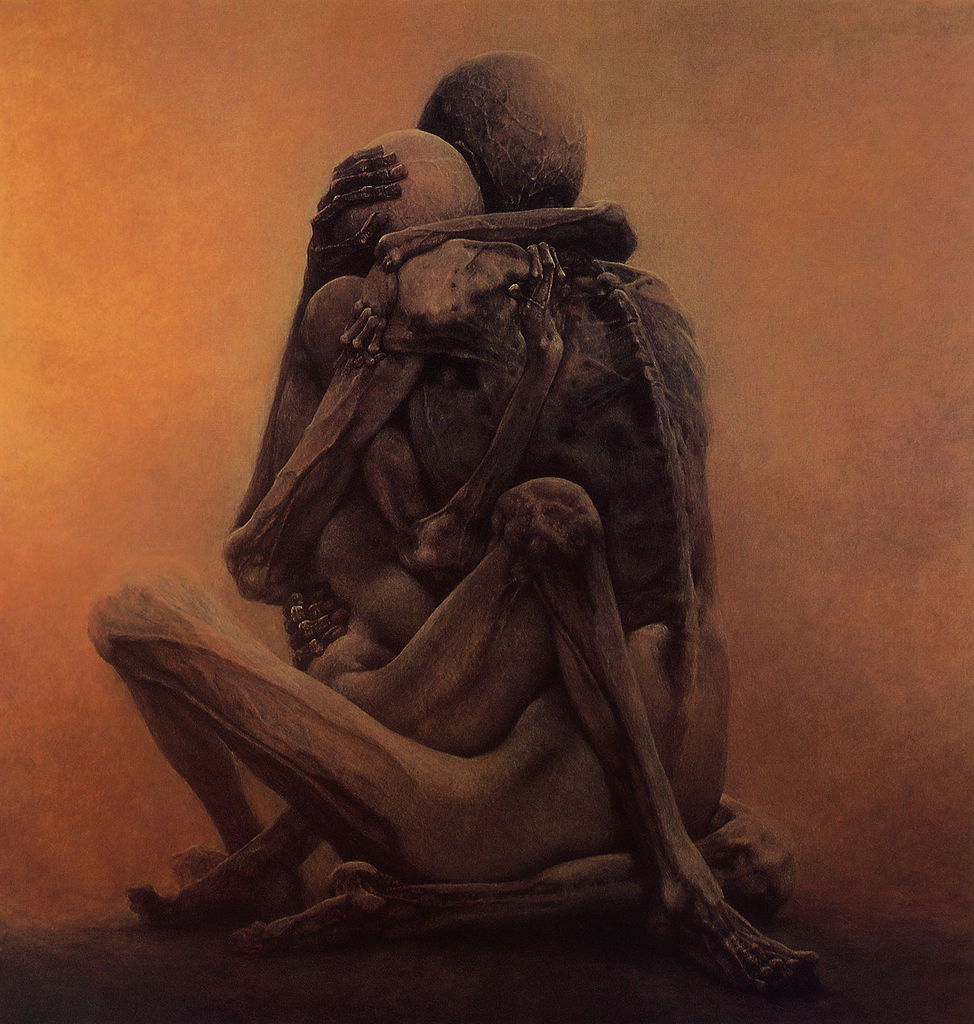 Untitled (1984) by Zdzislaw Beksinski