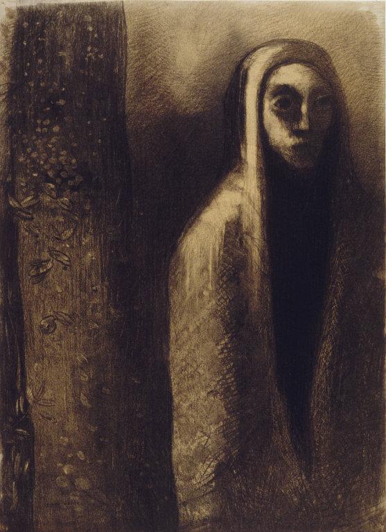 Prophète by Odilon Redon