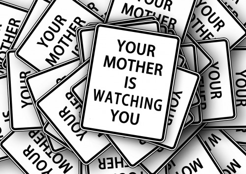 mother is watching