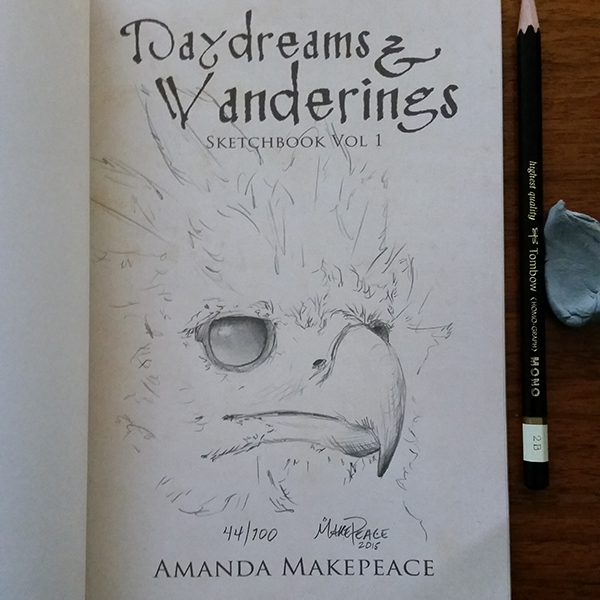 Daydreams and Wanderings Sketchbook