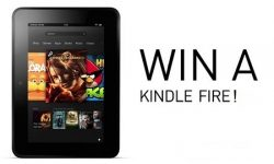 win a kindle fire - blog post