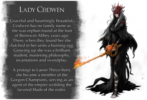 Lady Ceidwen of the Embers of the Forgotten Kingdom