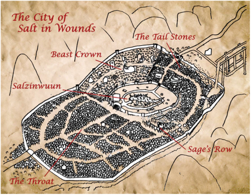 Salt in Wounds City Map (Rough Draft)