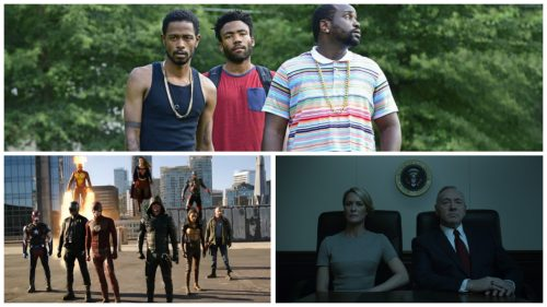 Atlanta, Legends of Tomorrow, and House of Cards